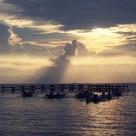 Melepas senja di Pulau Samalona
