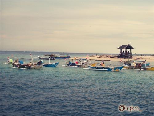Pemandangan Pulau Samalona
