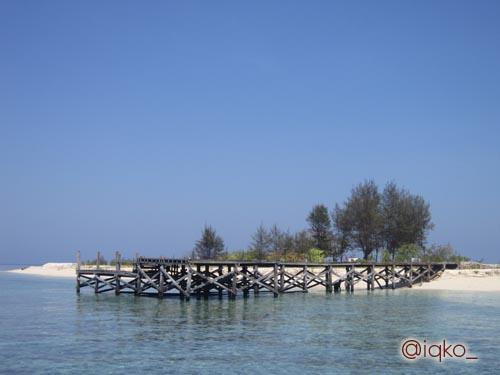 Dermaga Pulau Kodingareng Keke