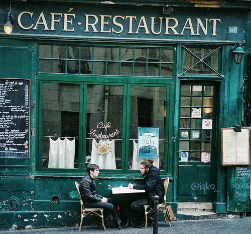 Cafe di area Universitas Sorbonne