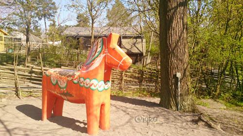 Dala horse, ikon negara Swedia