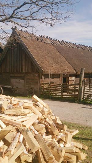 Tipikal rumah pertanian