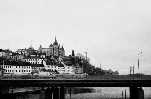 Jembatan dari Slussen ke Gamla Stan