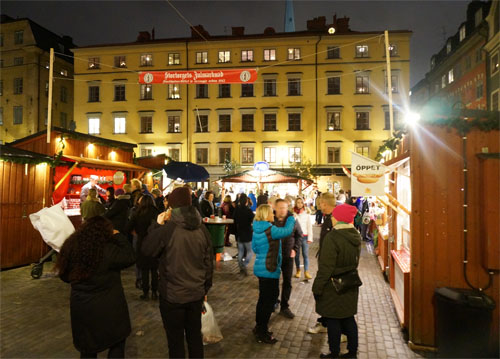 Christmas Market di Gamla Stan
